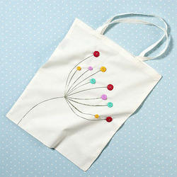 Embroidered Cotton Bags