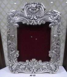 925 Sterling Silver Wooden Photo Frame
