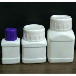 HDPE Square Pesticides & Chemicals Bottle