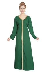 Evening Wear Night Dress For Arabian Ladies