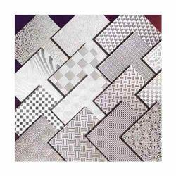 Stainless Steel Etched Pattern Sheet