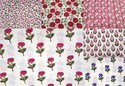 Hand Block Print Knitted Cotton Fabric