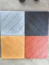 Concrete Matte Disha Parking Tiles, Size: 300 mm x 300 mm