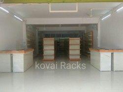 Departmental Store wall Shelves