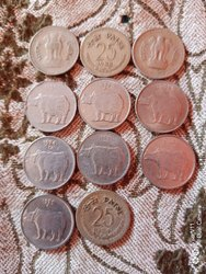 1988-2000 25 paise