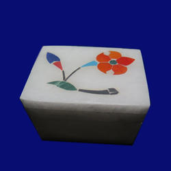 Trinket Box  With Gems Inlay Work