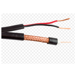 Coaxial Cable with Power & Support Wire