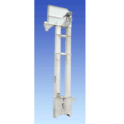 Stainless Steel Mild Steel Grain Elevator, Model Name/Number: Saras, Capacity: 4-5 ton