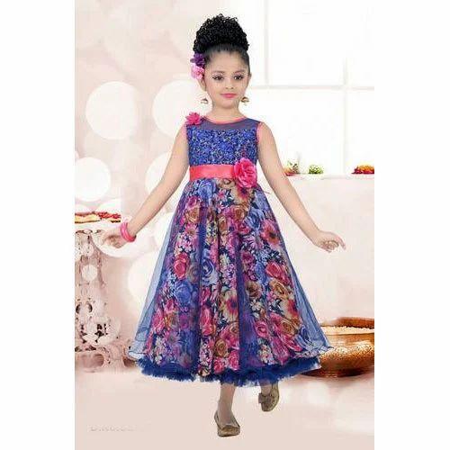 33de9b53985d Kids Party Wear Frock at Rs 600 /piece | Children Frock, किड्स ...