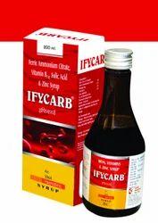 Ferric Ammonium Citrate 160 Mg SyrupFerric Ammonium Citrate 160mg Folic acid 0.5mcg Vit. B12 7.5mcg