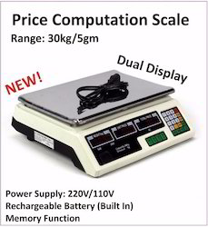 Price Computation Scale (30kg/5gm)