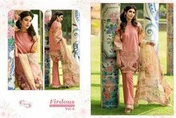 Firdous Pure Jam Silk Pakistani Suits