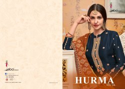 Hurma Vol 24 By Eba Lifestyle Viscose Upada Exclusive Salwar Kameez