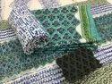 Casual Full Sleeves Sanganari Print Cotton Suits