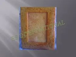Solid Resin Photo Frame, Size: 7x5