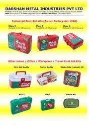 Plastic and Aluminium First Aid Kit