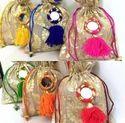 Georgette Gift Potli Bags
