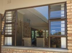 Sliding UPVC Side Top Hung Windows