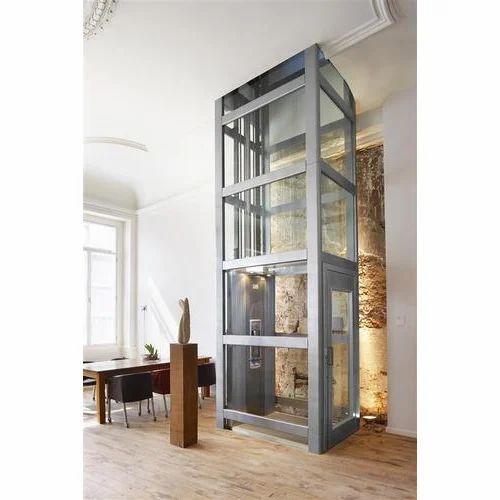 Indoor Home Lift Bunglow Elevator