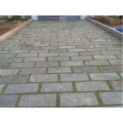 Pavement Stone Walkway