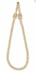 Dark Beige Mix Rope Tieback
