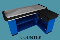 Checkout Cash Counter