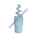 PP Spiral Full Cone Spray Nozzles