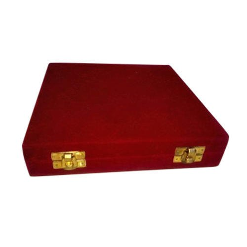 Square Velvet Boxes, For jewellary packaging