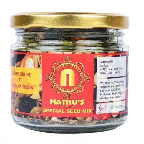 Nathus Special Pumpkin Seed Mixture, Pack Type: Box And Glass Jar