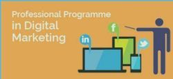 Professional Programme In Digital Marketing