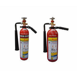 Safety First Carbon Dioxide Fire Extinguisher