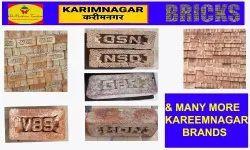 Almadina Rectangular Kareem Nagar Bricks, For Construction, Packaging Type: Lorry