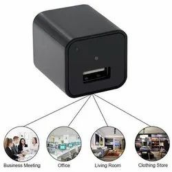 32 GB 10 to 15 m HD 1080P USB Wall Charger Spy Camera