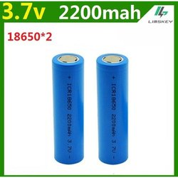 ICR 18650 2200mAh 3.7 Volt Li-ion Rechargeable Battery