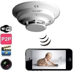 Spy Smoke Detector CCTV Camera