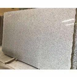 Grey Polished C White Granite Slab, For Flooring, Thickness: 12-20 mm