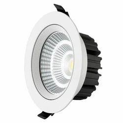 Sethco Indoor LED Spot Light, Shape: Round