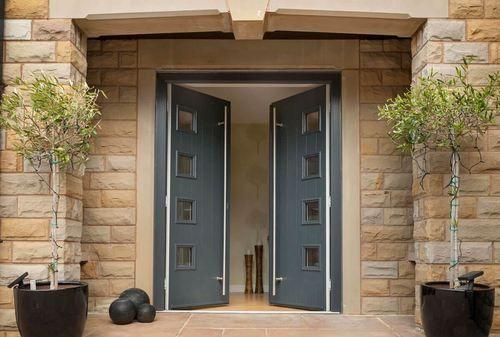 Upvc Front Door Upvc Doors Om Shree Sai Aluminium And Glass Works