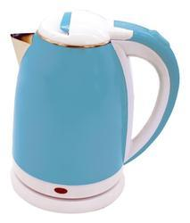 Blue Stainless Steel Electric Tea Kettle