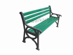 Bodhi Cast Iron Garden Bench