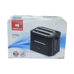 Black Rated Power: 700w Electrical Toaster