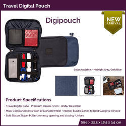 Travel Digital Pouch