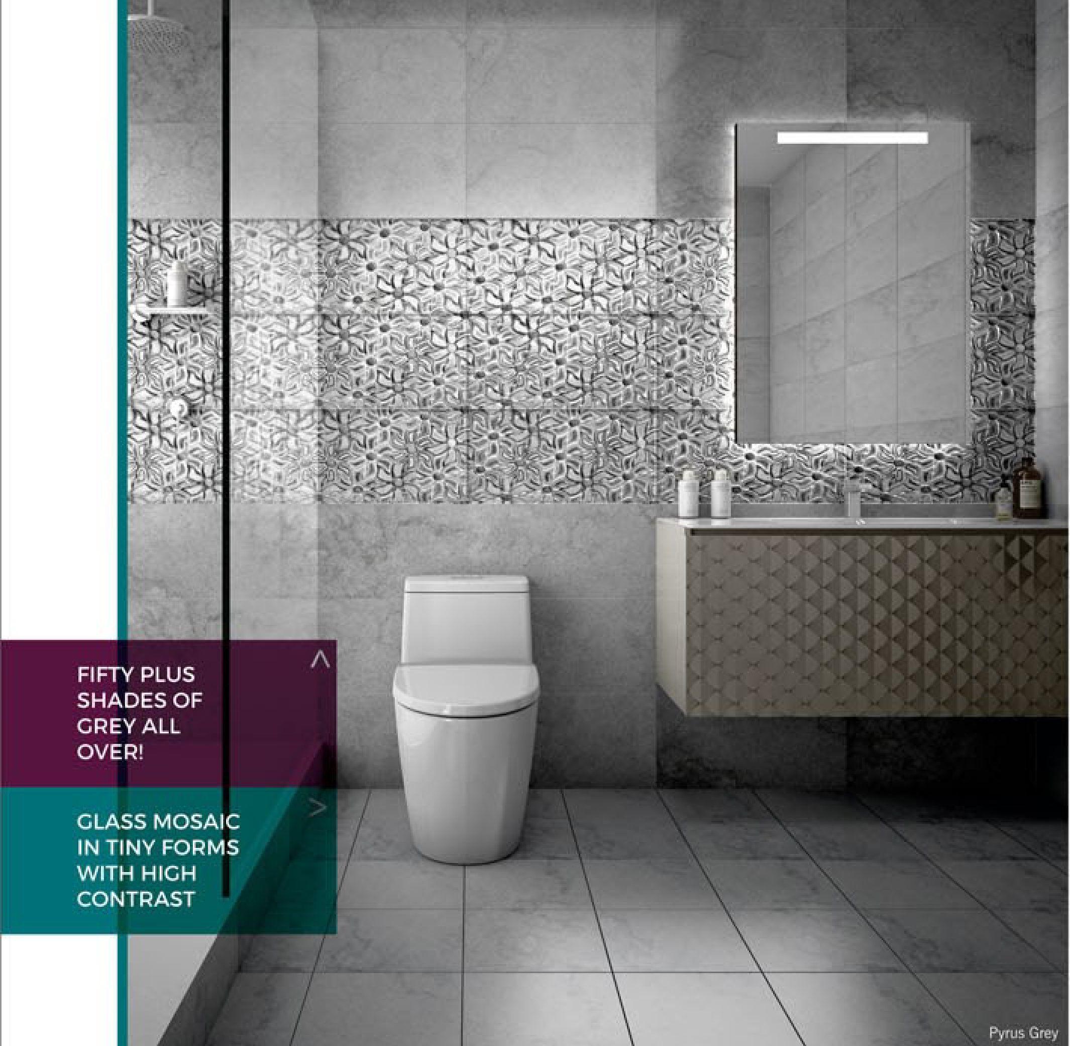 250x375 designer bathroom wall tiles at rs 90box  बाथरूम