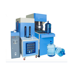 Bestech 35 HP Semi-Automatic Water Treatment's Semi Auto Blowing Machine, , Capacity:1100-4200 BPH