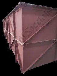 MS Rectangular Storage Tank