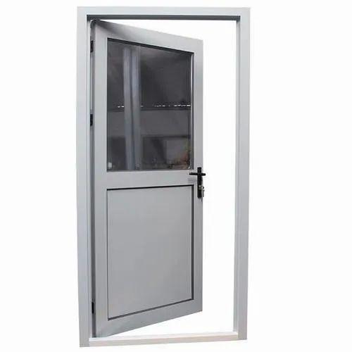 Aluminium Bathroom Door, Single
