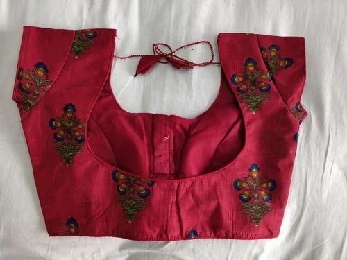 38 Silk Kalamkari Readymade Blouse Rs 200 Piece Pearl Fashion