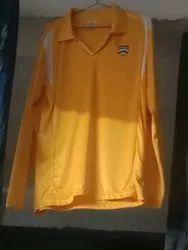 Full Sleeve Yellow T Shirt