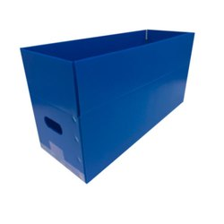 Blue Polyethylene Partition Box