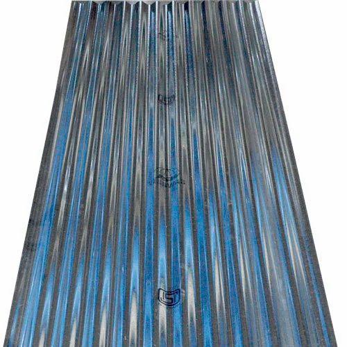Galvanized Corrugated Sheet Jsw गैल्वेनाइज्ड शीट